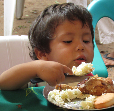 Chalice sponsor child Dominica Paraguay